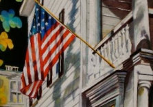 charleston-single-with-flag-ii_40-x-20-oil-on-canvas-fred-jamar