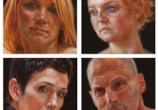 colin-poole-gaze-series-4x4-each-oil-all-4-for-1800