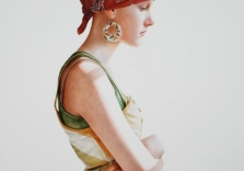 girl-with-a-pineapple-earring-ali-cavanaugh-20x24-in