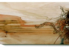 sunrise_rock_35x12_acrylic_birch_2010_jazzminh_moore